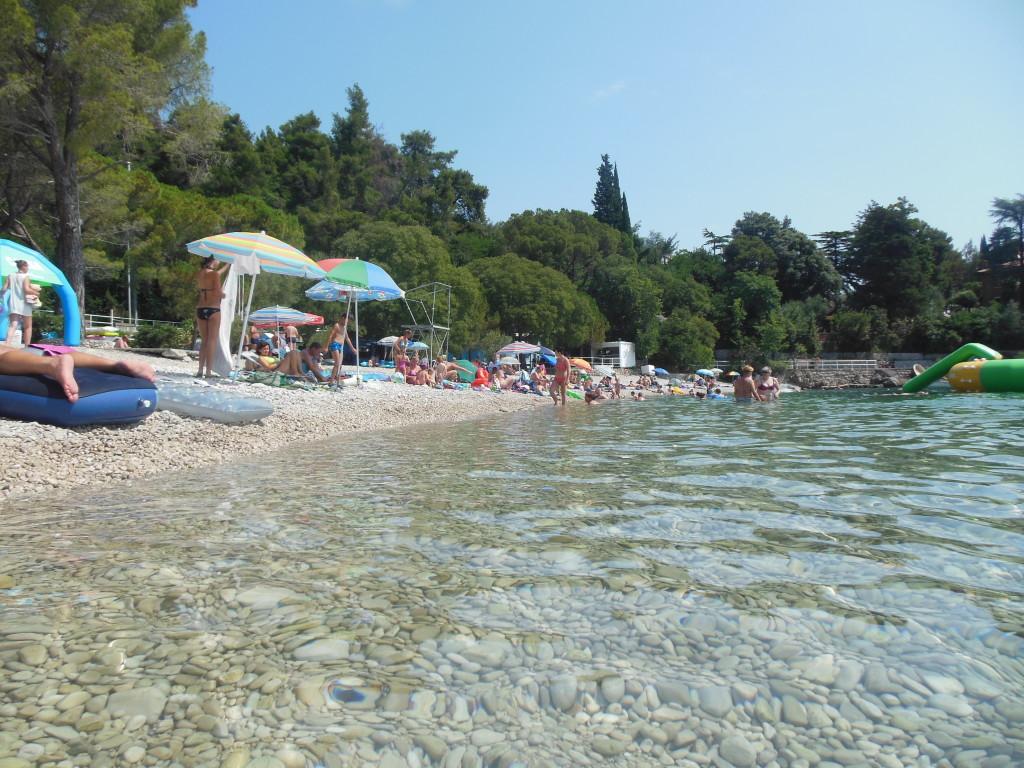 Chorvatsko Istrie u moře