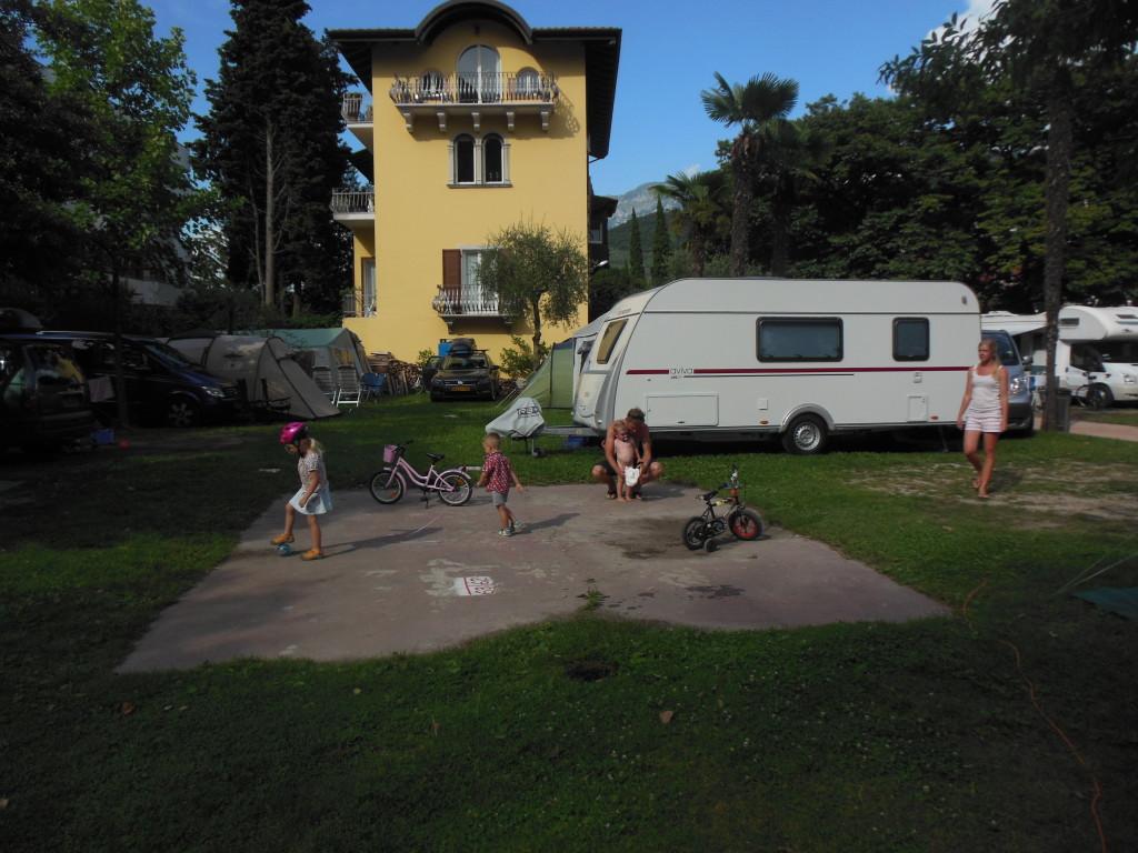 Z kempu v Itálii